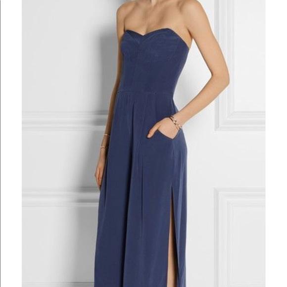 fe94f8c3447e Milly Silk Culotte Jumpsuit. M 5ae5cbd09cc7ef0f10d8ec55